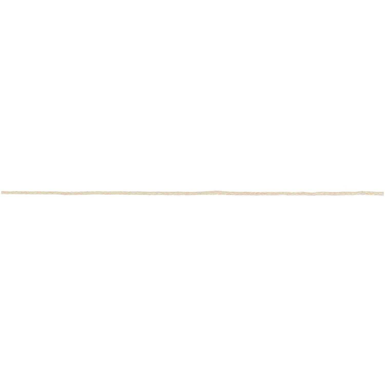 Rico NAY COTTON TAPE, OFF WHITE 1MM X 5M, 100% COTTON