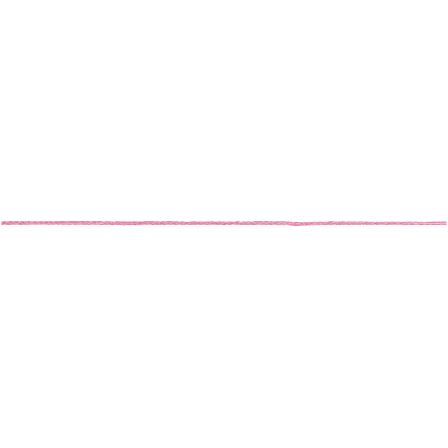Rico NAY COTTON TAPE, PINK 1MM X 5M