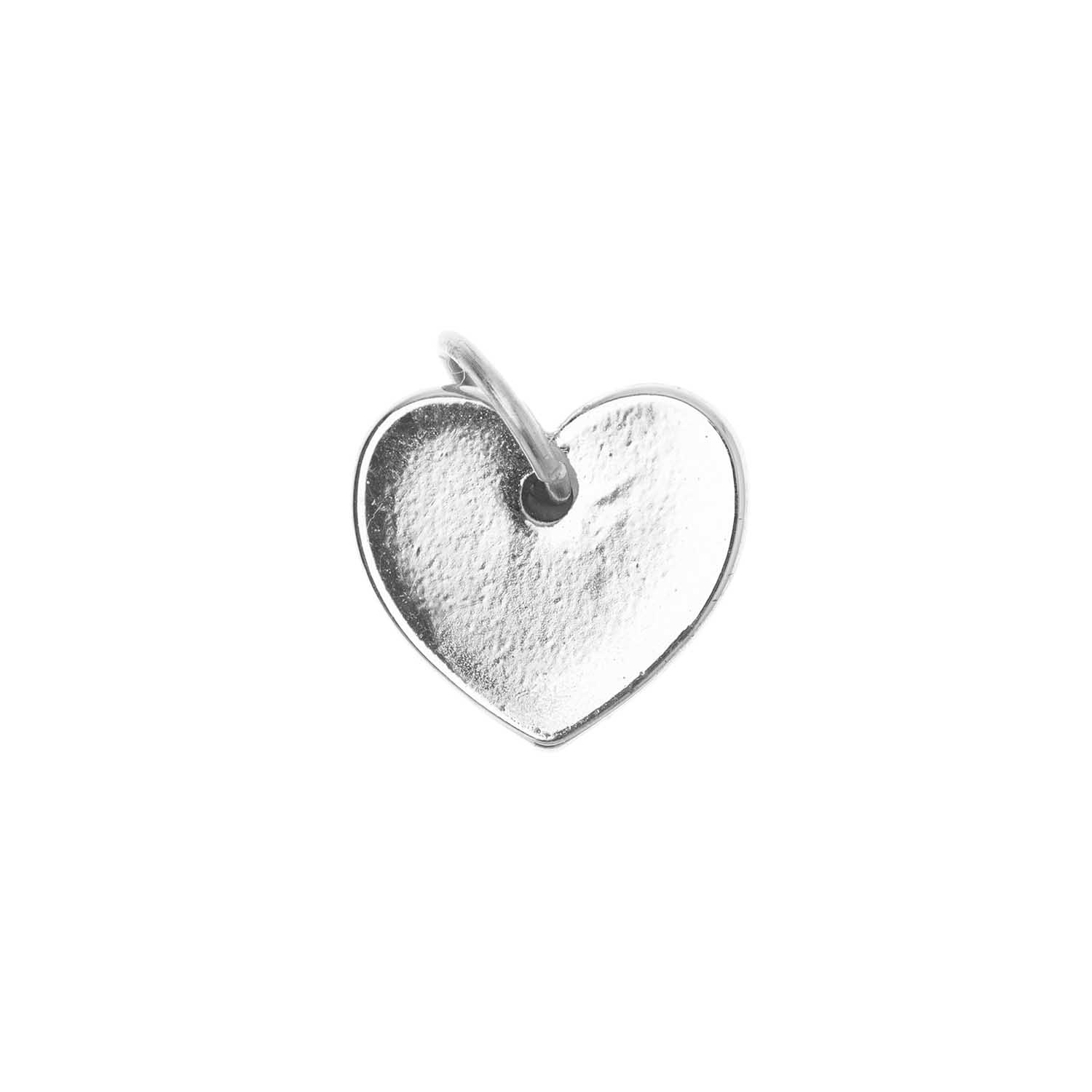 Rico NAY HEART PENDANT, SILVER 10/9 MM