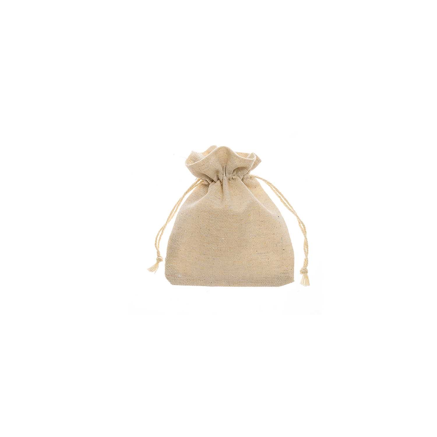 Rico NAY BAG JUTE LOOK NATURE, 10X13CM