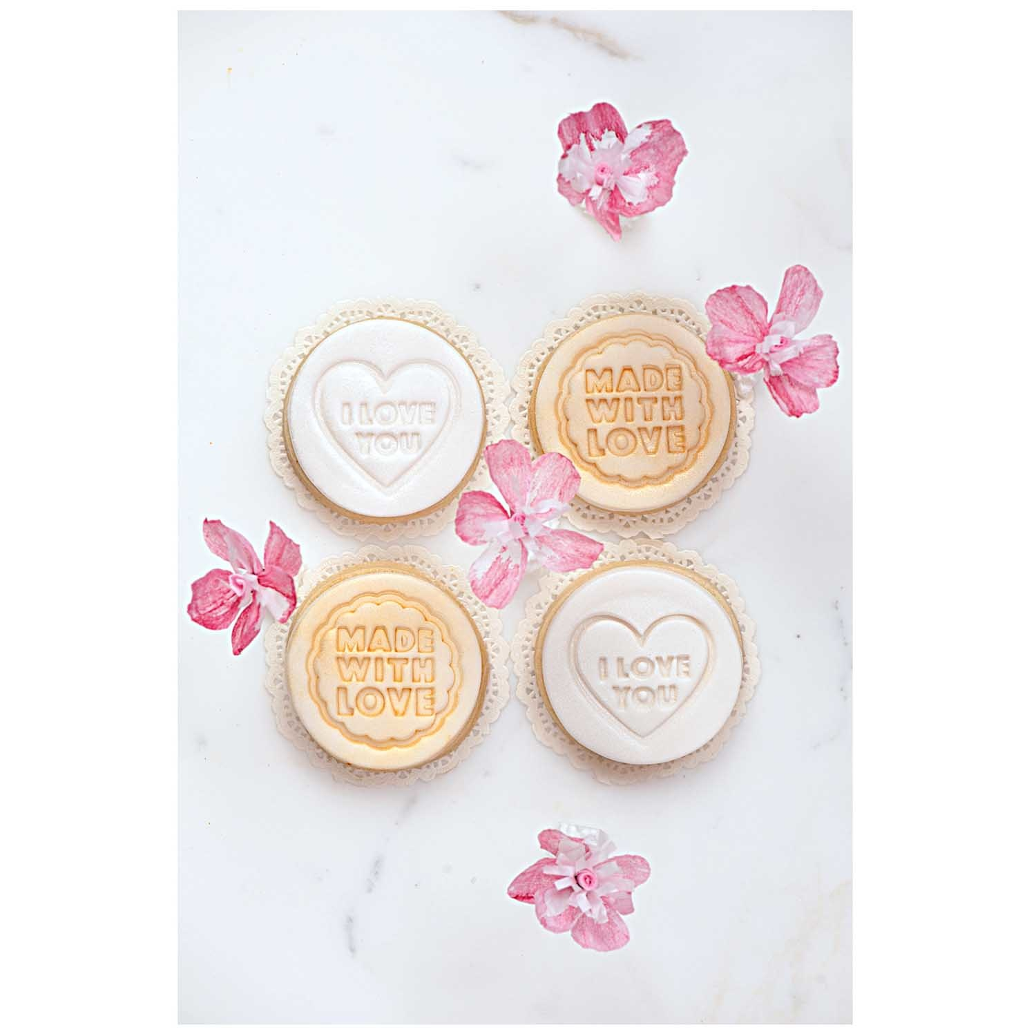 Rico NAY COOKIE STAMPER I LOVE YOU 6 / 8,5 CM