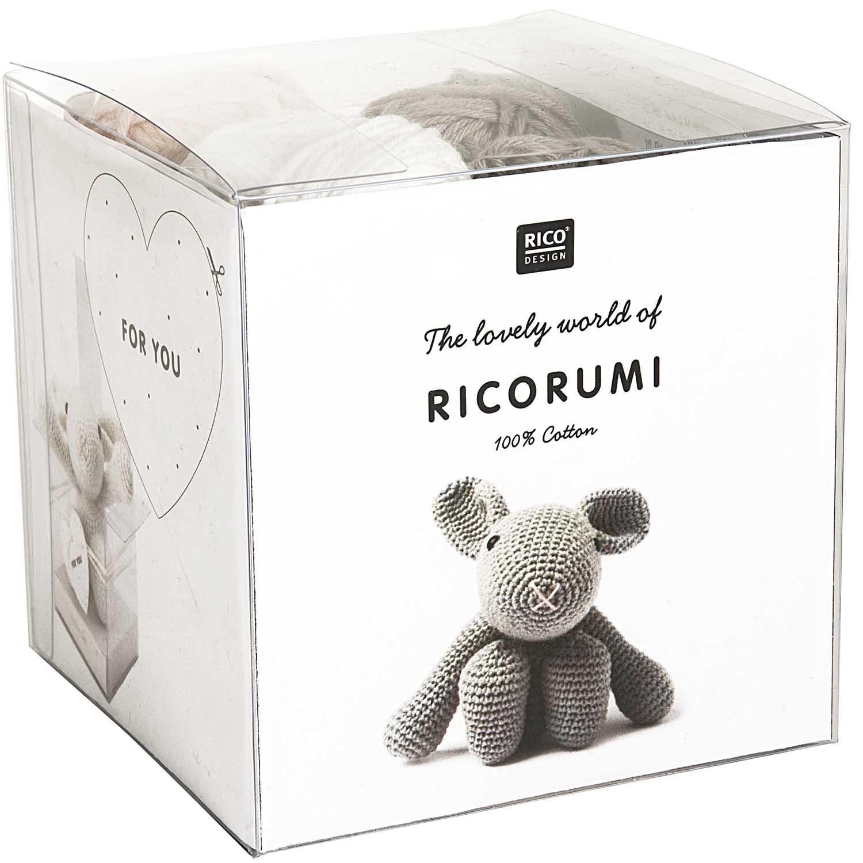 Rico NAY DIY KIT RICORUMI PUPPIES BUNNY 100% CO 25G/57,5M