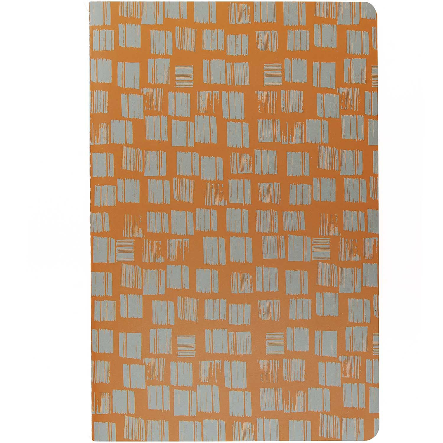 Rico NAY NOTEBOOKS A5, CARAMEL /GREY FSC MIX 2 PCS