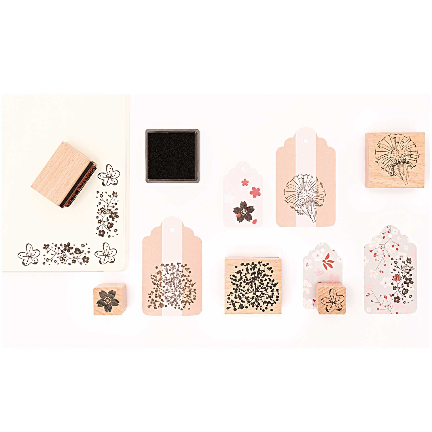 Rico NAY GIFT TAGS, BOUQUET SAUVAGE 30 PCS