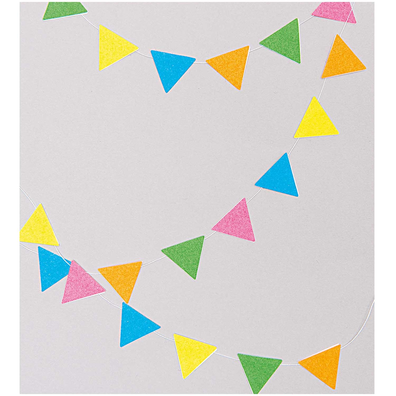 Rico NAY OFFICE STICKER, TRIANGLE FUCHSIA/ RED 4 SHEETS, 9,5 X 19 CM