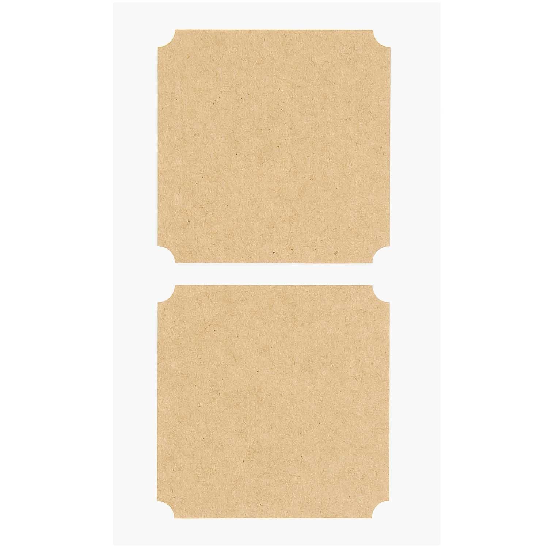 Rico NAY CRAFT PAPER STICKERS, BIG TAGS 15 X 10 CM, 8 PCS