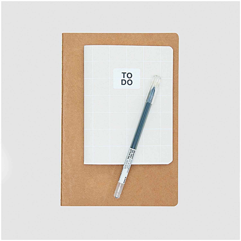 Rico NAY NOTEBOOK KRAFT PAPER FSC MIX 105 X 140 MM, 40 SHEETS, 80 G