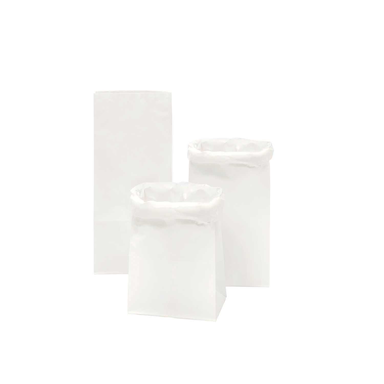 Rico NAY BLOCK BOTTOM BAG, S 41/18/12 CM, WHITE/WHITE