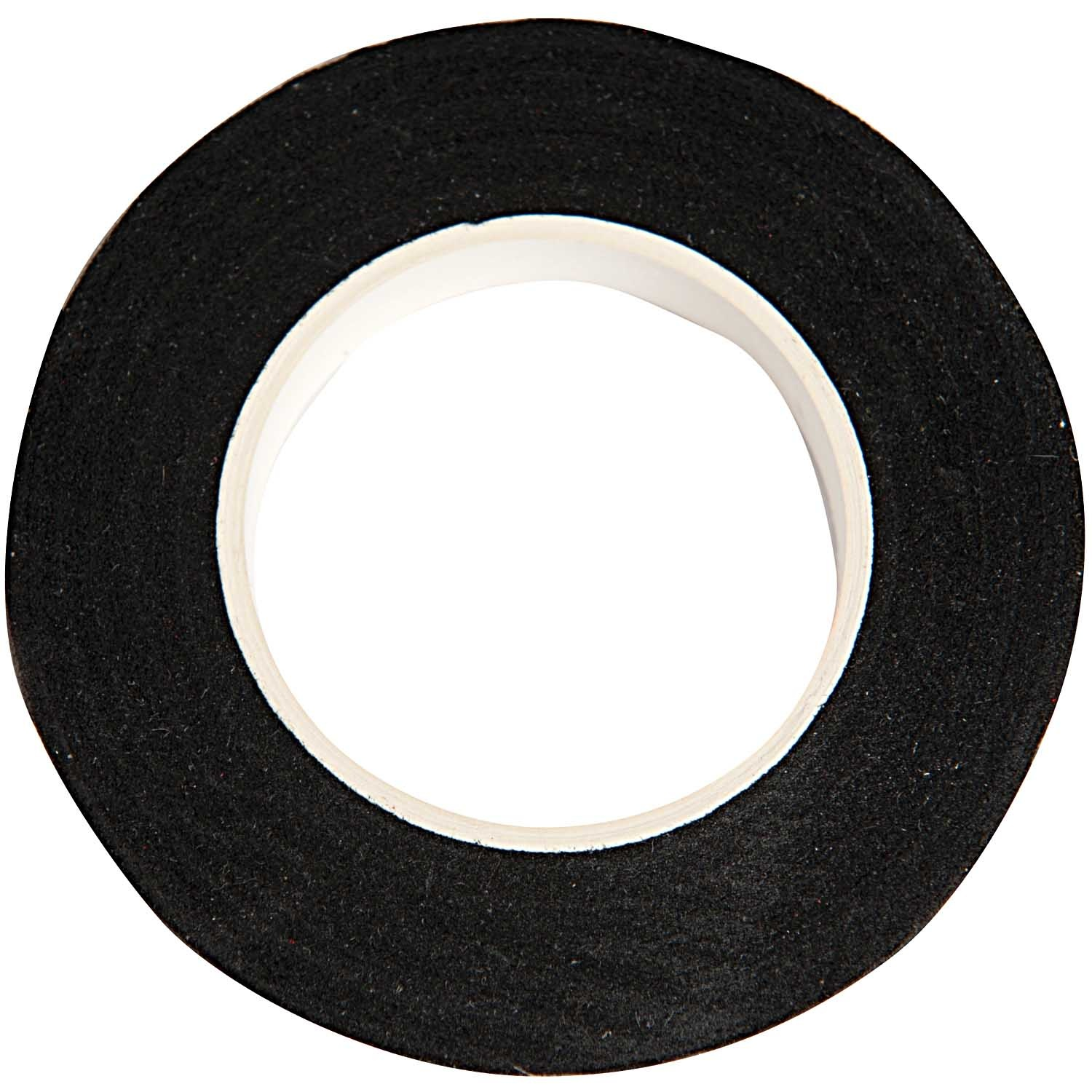 Rico NAY FLORAL CREPE TAPE, BLACK  12 MM X 27,5 M