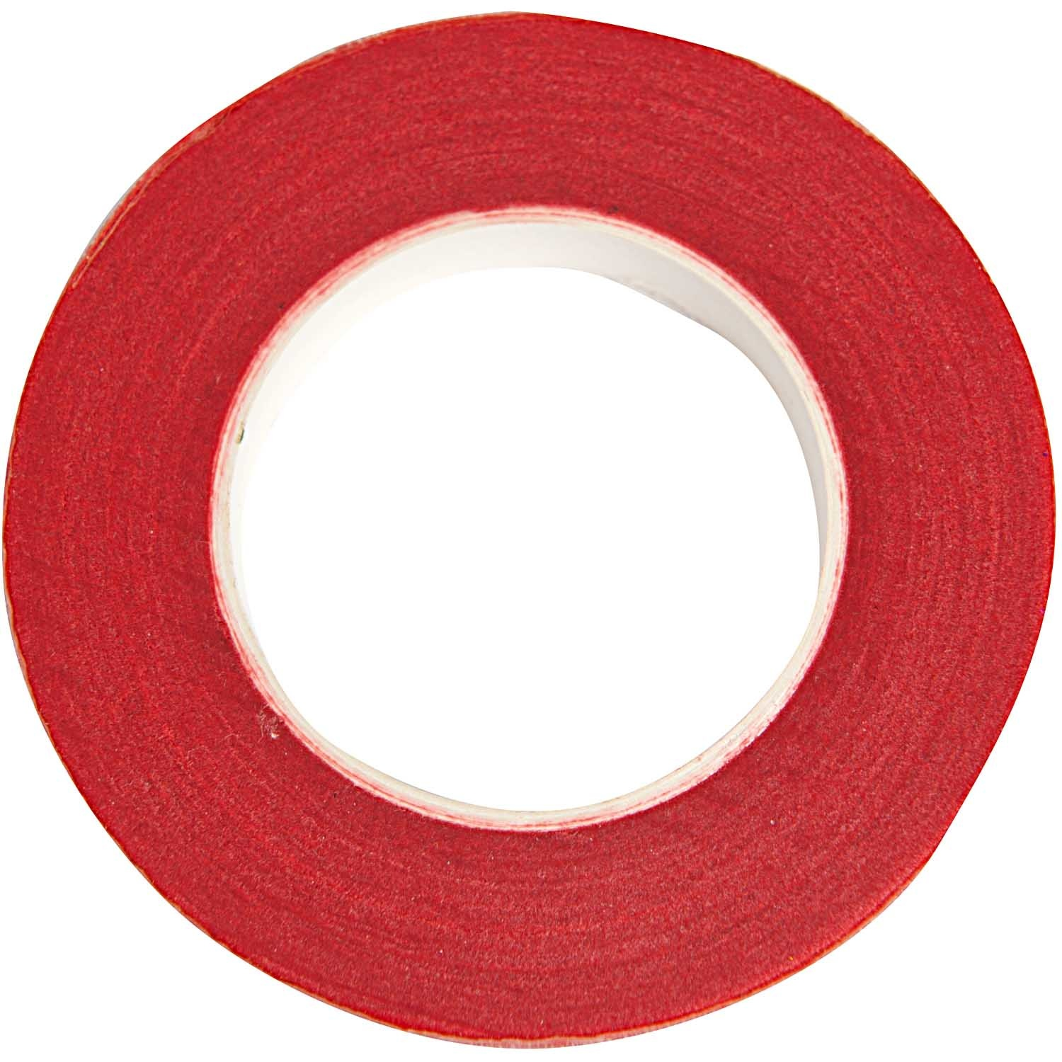 Rico NAY FLORAL CREPE TAPE, RED  12 MM X 27,5 M