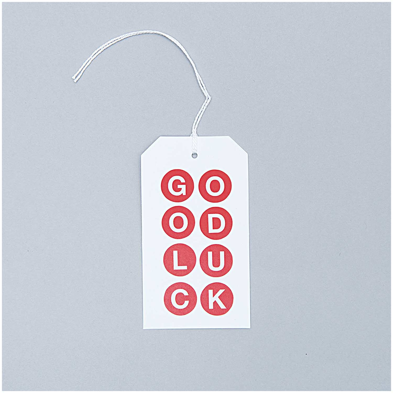 Rico NAY GIFT TAGS, WHITE/ ECRU  175/125 MM