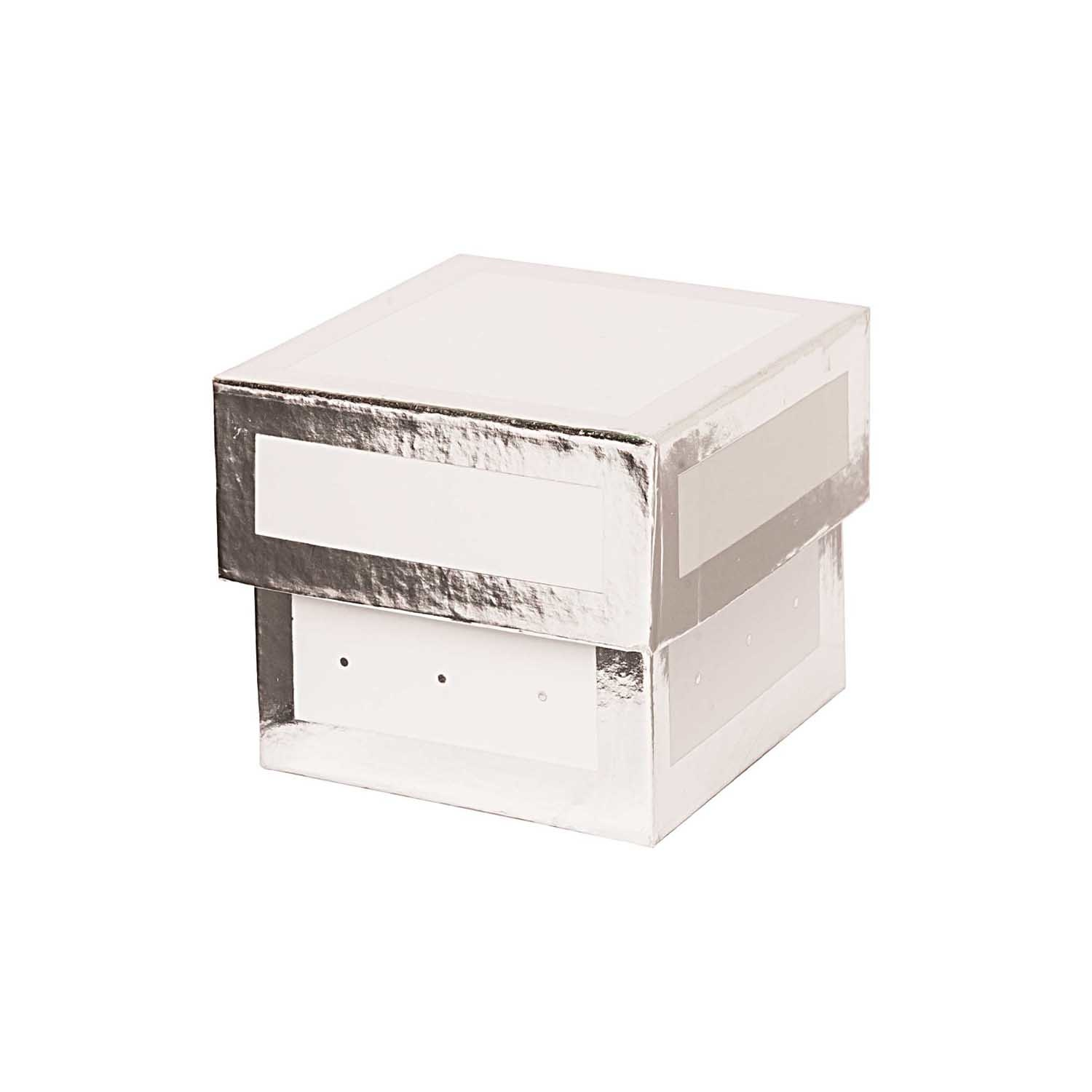 Rico NAY GIFT BOX, WHITE, SQUARE, FSC RECYCLED