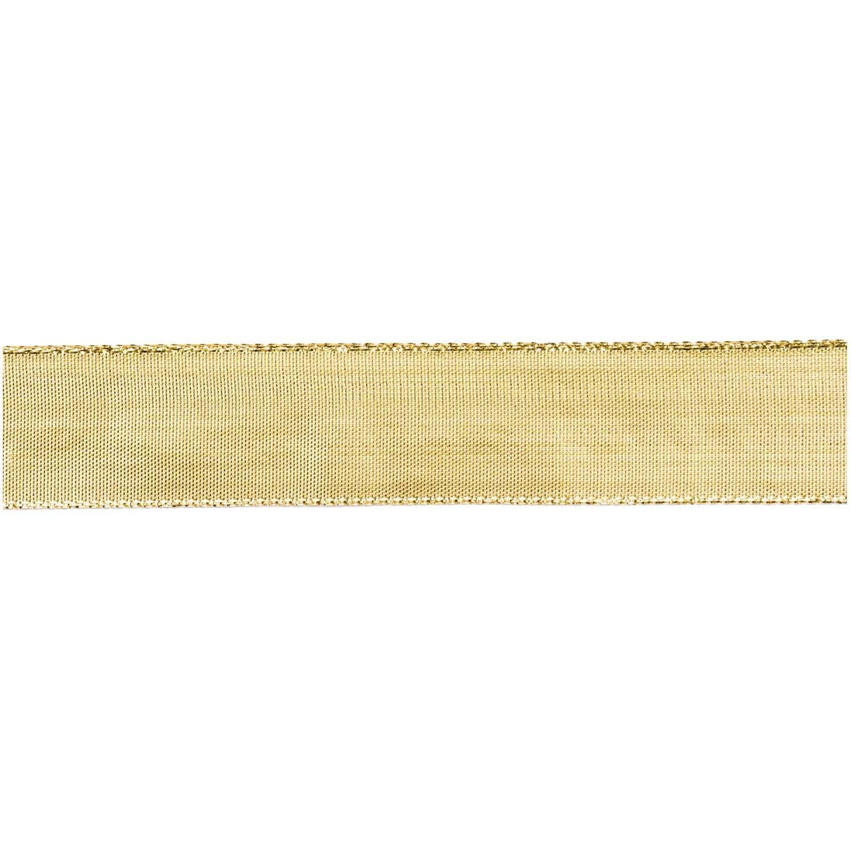 Rico NAY METALLIC RIBBON, GOLD 25 MM / 3 M