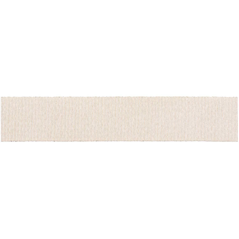 Rico NAY LUREX GRO. RIBBON, ANTIQUE WHITE 25 MM / 3 M