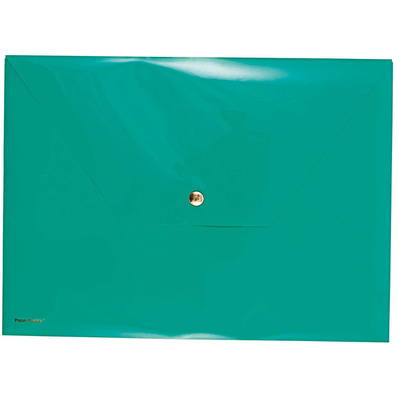Rico NAY DOCUMENT FOLDER, GREEN 24 X 33 CM