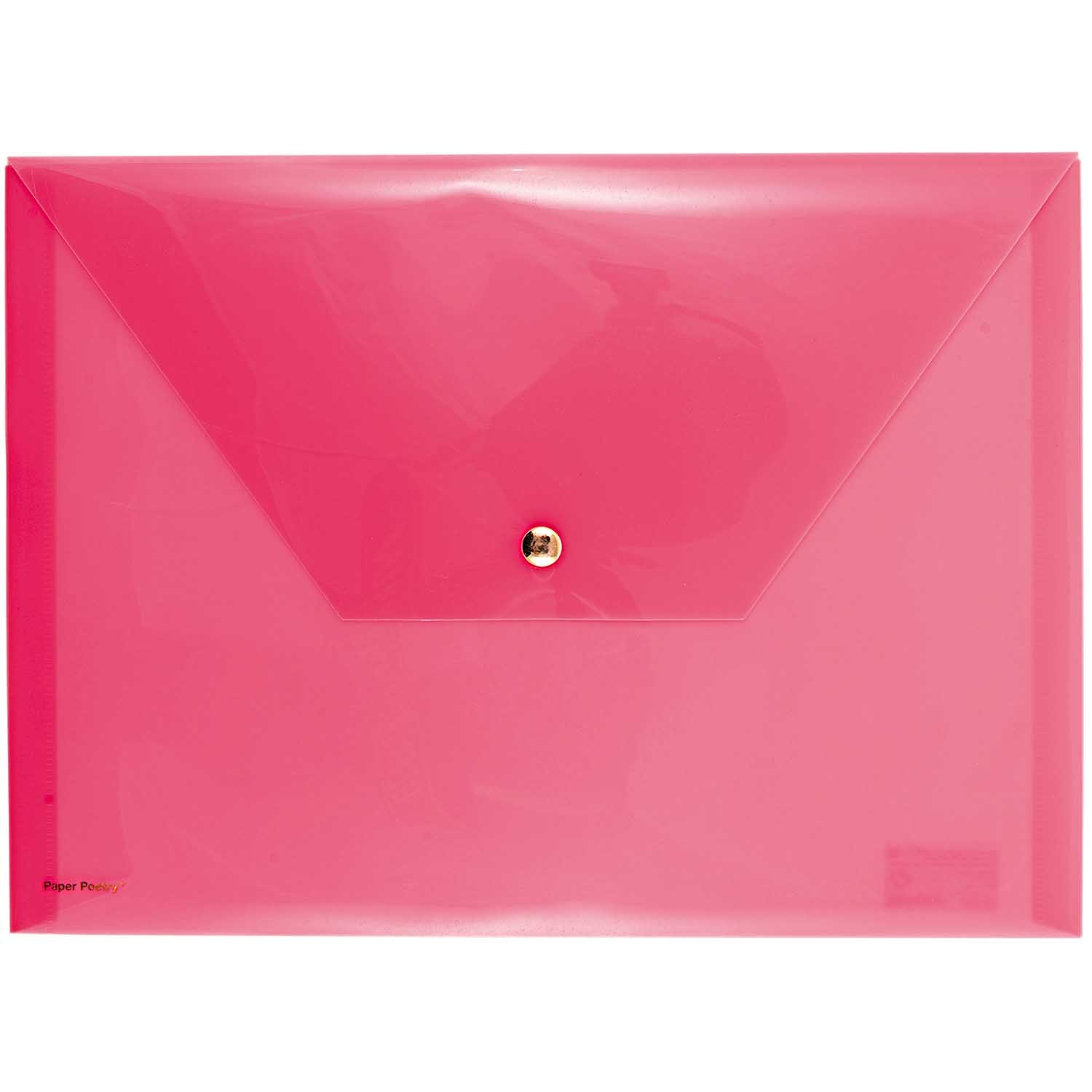 Rico NAY DOCUMENT FOLDER, NEON PINK  24 X 33 CM