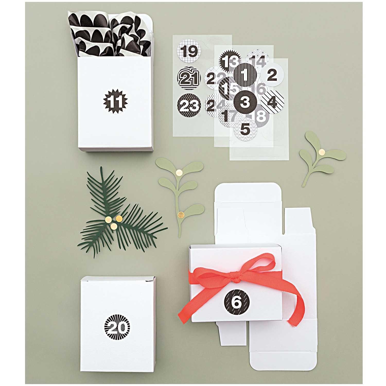 Rico NAY BOX WHITE PAPER (ADVENT) 24 PCS