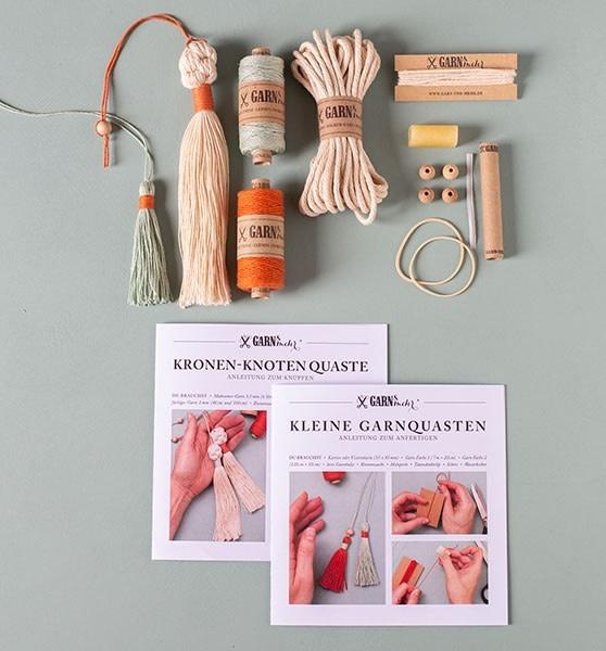 Garn & Mehr DIY kit Yarn Tassels