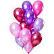 FT Balloons Merry Berry Pink Metallic 30cm - 15 pieces