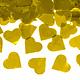 PD Confetti cannon with hearts, gold, 60cm