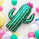 PD Foil balloon Cactus, 60x82cm, mix