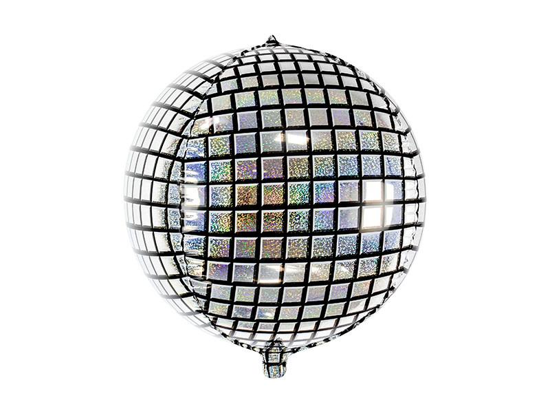 PD Foil Balloon Disco Ball, 40cm