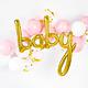 PD Foil balloon Baby, gold, 73.5x75.5cm