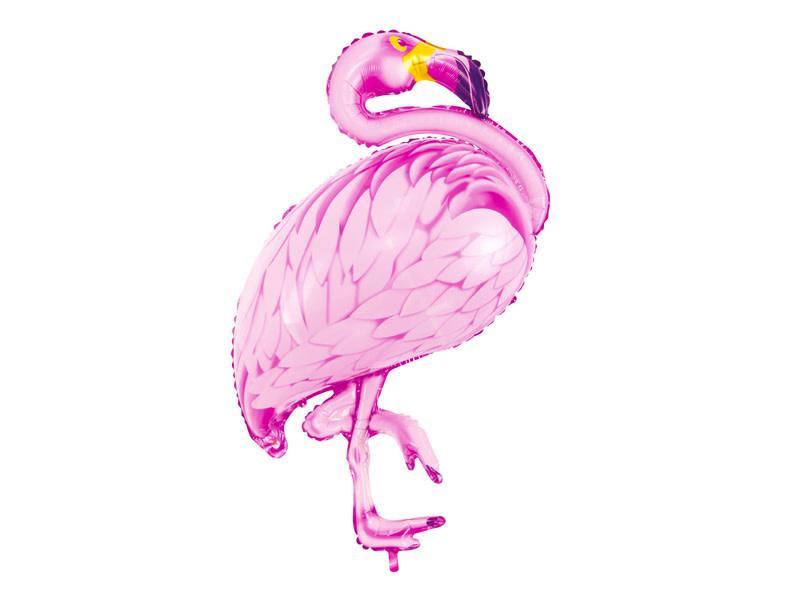 PD Foil balloon Flamingo, pink, 70x95cm