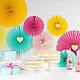 PD Cake topper Sweet Love - Sweet Kisses