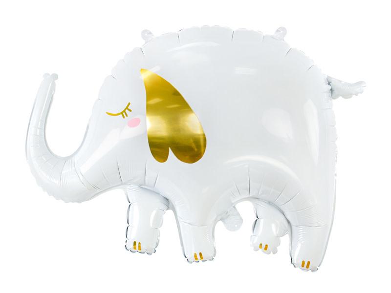 PD Foil Balloon Elephant, 61x46cm, mix