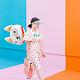 PD Foil Balloon Dog, 45x50cm, mix