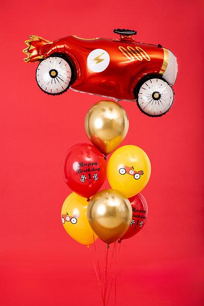 PD Balloons 30cm, Happy Birthday, mix 6 pcs.