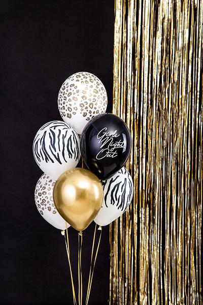PD Balloons 30 cm, Zebra, Pastel Pure White 50 pc.