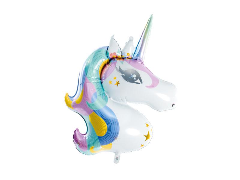 PD Foil balloon Unicorn, 73x90cm, mix