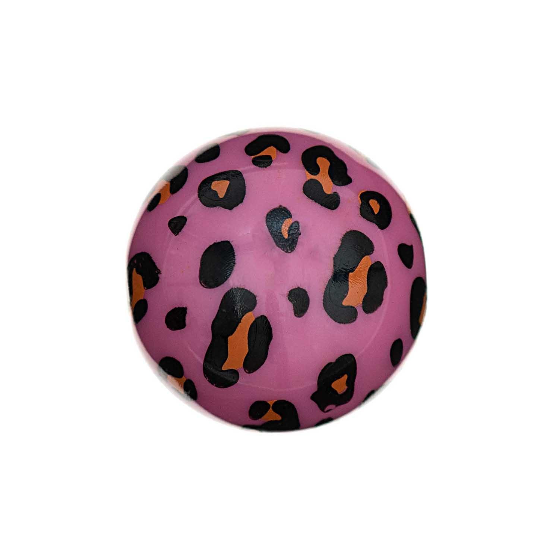 Rico NAY Acid Leo beads, pink, 6 pcs, Ø 16 mm, 2 mm hole