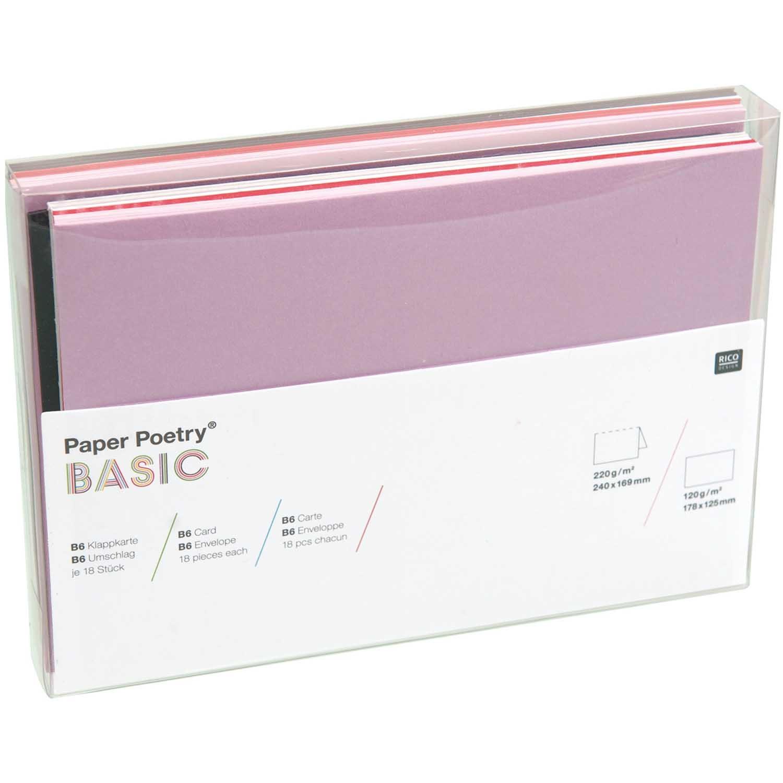 Rico NAY BASIC CARD SET MADE BY ME, B6 36 PCS