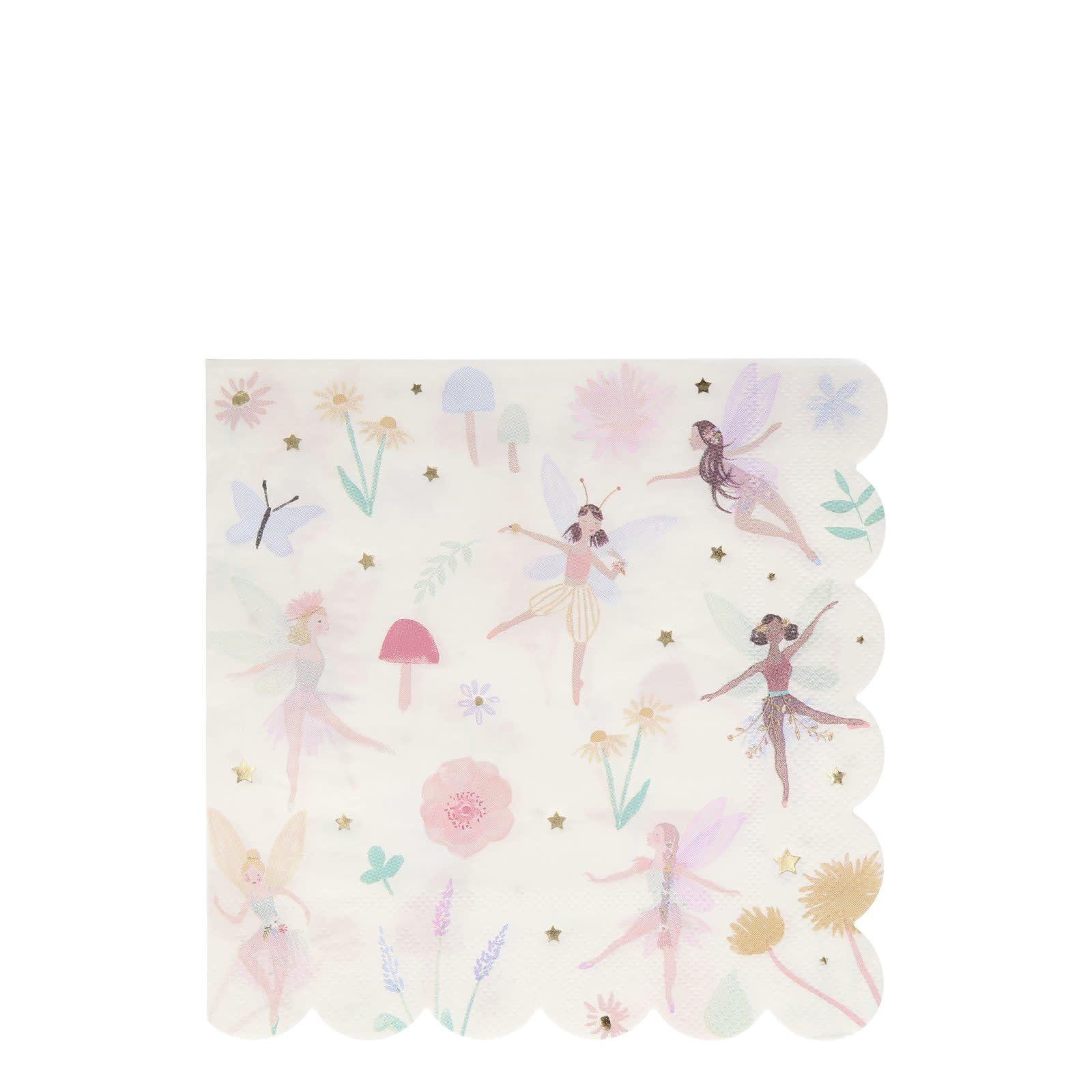 MERIMERI Fairy napkins L