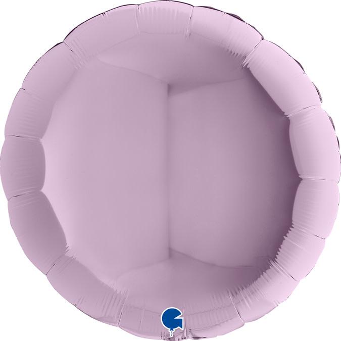 SMP circle foil balloon lilac 90 cm