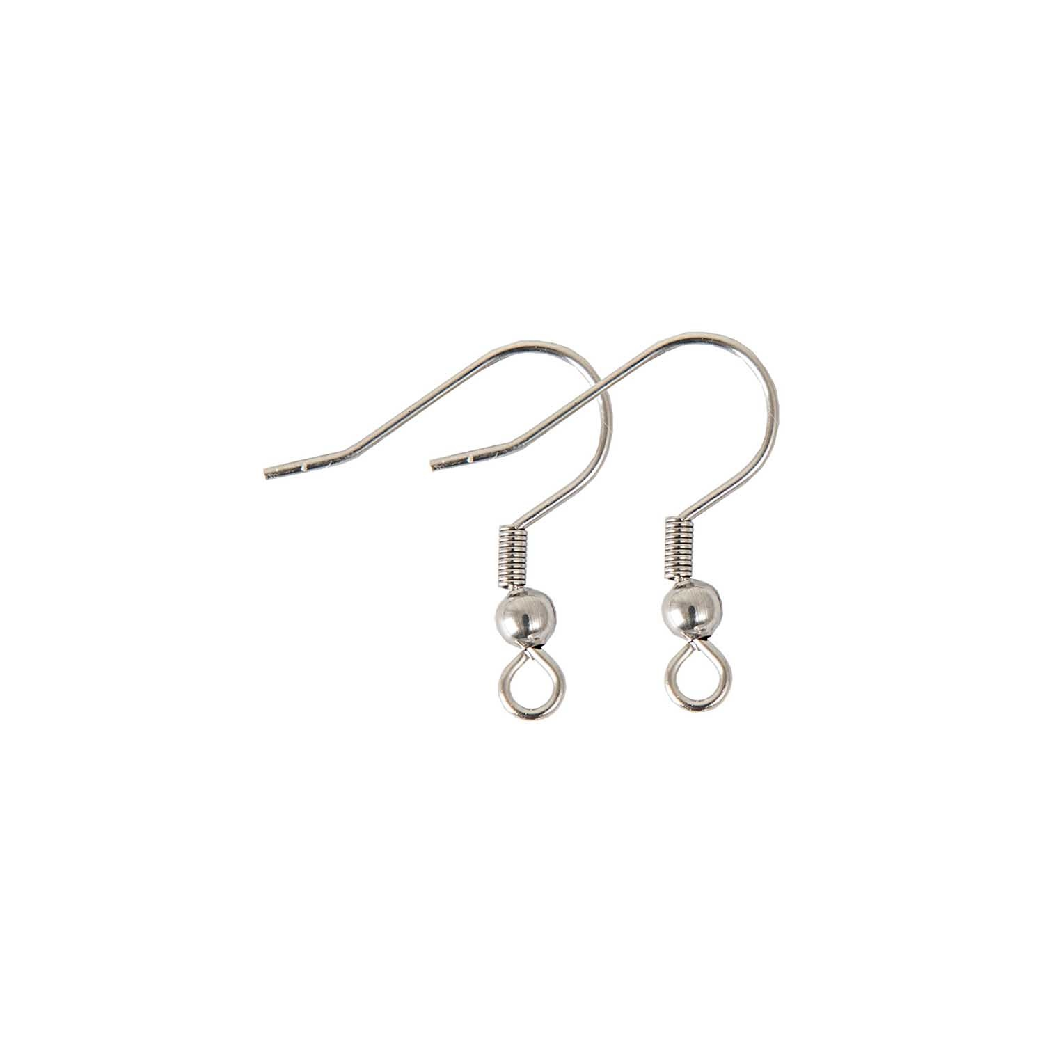 Rico NAY EARRING HOOK STAINLESS STEEL17MM, 2 PCS