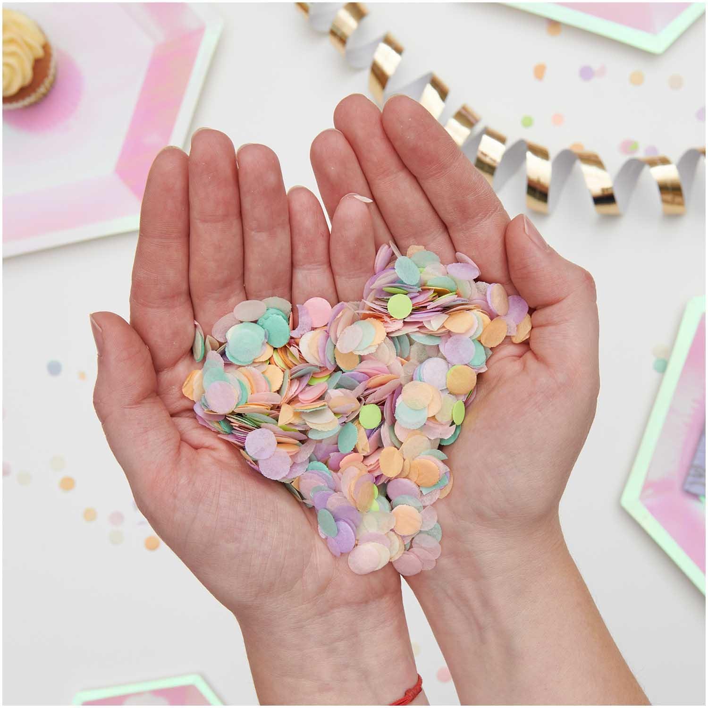 RICO Confetti, Pastel Rainbow mix , 20g
