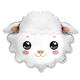 HH foil balloon sheep head 58 cm