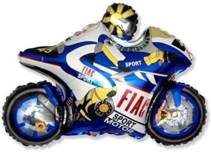 HH foil balloon motor blue 61 cm