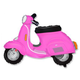 HH foil balloon scooter pink 61 cm