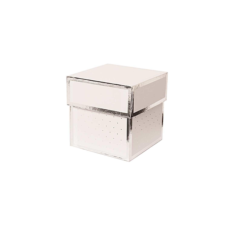 Rico NAY GIFT BOX WHITE,SQUARE, 10 X 10 X 10 CM FSC MIX