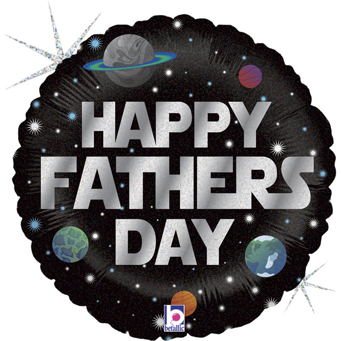 SMP Galactic Father's Day foil balloon 45 cm