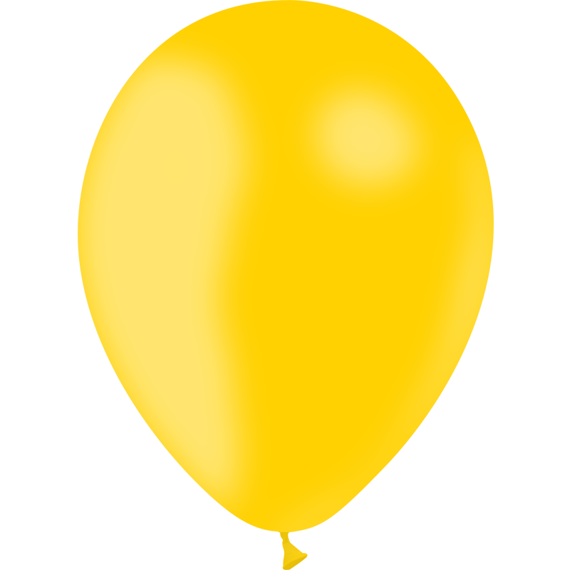 SMP 10 X yellow gold LATEX BALLOONS 30 CM 100% BIODEGRADABLE