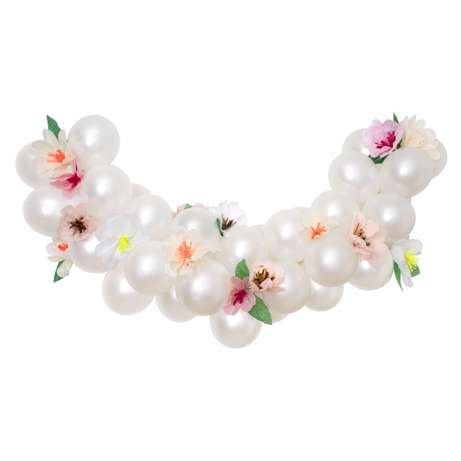 MERIMERI Floral balloon garland kit