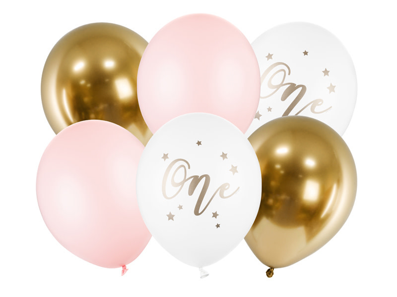 PD Balloons 30cm, One, Pastel Pale Pink