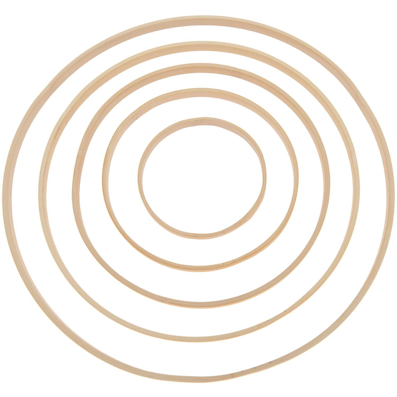 Rico NAY Decorative bamboo ring 15cm