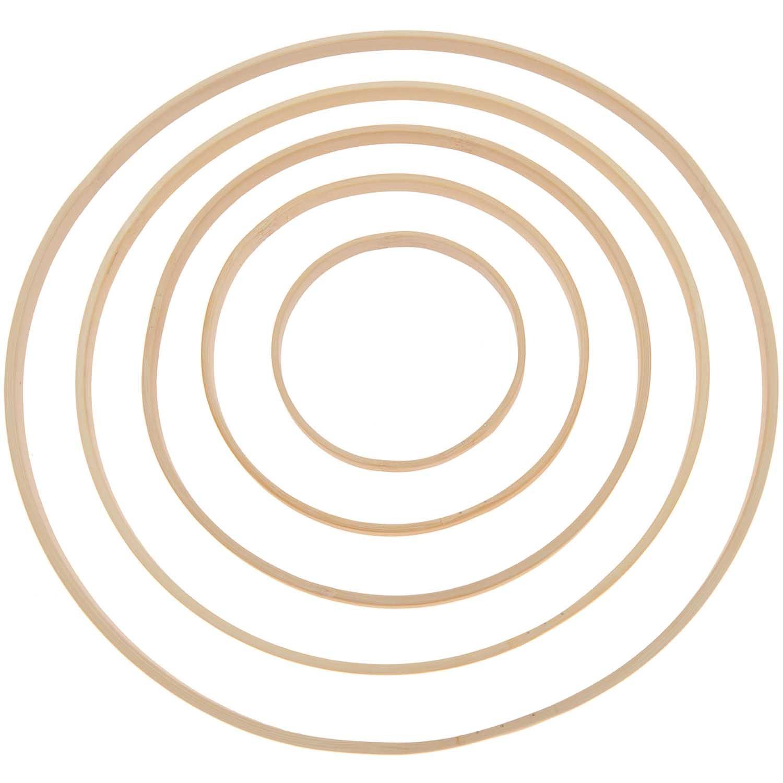 Rico NAY Decorative bamboo ring 25cm